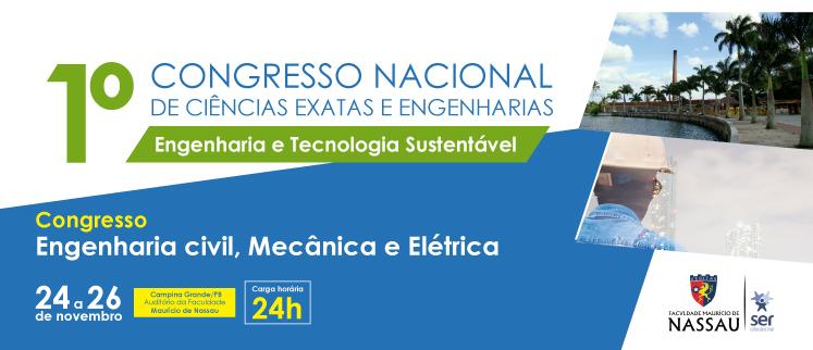 1° Congresso Nacional de Ciências Exatas e Engenharia