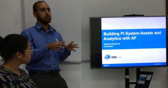 Treinamento em monitoramento de dados – OSIsoft/DEQ-UFCG